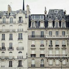 Immeubles Hausmanniens, Paris.