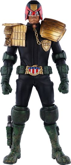 2000AD's Judge Dredd Sixth Scale Figure.