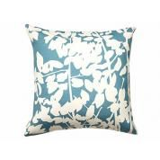 Fern Pillows: Cream + Peacock Hemp/Organic Cotton $59-$89  AmenityHome.com