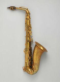 Saxophone teve várias adaptações ao longo dos anos  (Foto: Reprodução/Met Museum)