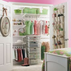 Not only love the closet design but would love to ditch sliding doors for french open ones.