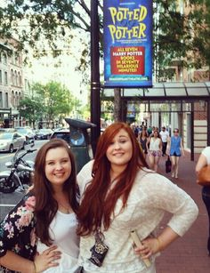 Our FAMILY member, Debbie, had an awesome time at @pottedpotter at @shakespeareindc with her daughter and friend!