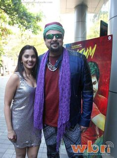 RINIL ROUTH and Ex-Junoon Sufi-Rocker SALMAN AHMAD at Rhythm Hindi Music Launch: watch a video of the event at http://www.washingtonbanglaradio.com/content/rhythm-hindi-film-launches-soundtrack-melodious-music-charms-music-lovers