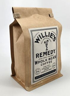 Willie Nelson Launches CBD-Infused Coffee - Leggings Are Pants Food Packaging Design, Coffee Packaging, Coffee Branding, Brand Packaging, Chocolate Packaging, Bottle Packaging, Willie Nelson, Coffee Label, Coffee Box