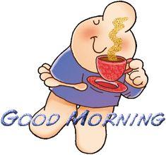 z -GIFS Good Morning archive at Sharing Good Morning Everyone, Good Morning Good Night, Good Morning Coffee Gif, Morning Morning, Morning Person, Coffee Break, I Love Coffee, Coffee Art, Coffee Shop