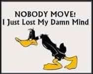 Daffy Duck Quote Funny Mind Insane - Funny Duck - Funny Duck meme - - Daffy Duck Quote Funny Mind Insane The post Daffy Duck Quote Funny Mind Insane appeared first on Gag Dad. Funny Shit, Haha Funny, Lol, Funny Stuff, Top Funny, Crazy Funny, Daily Funny, Memes Humor, Funny Memes