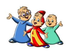 Alvin and the Chipmunks - one of my favorite cartoons in the 80s :)