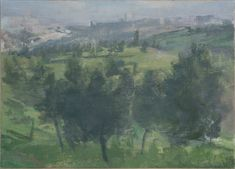 Yael Scalia | View of Jerusalem from the North