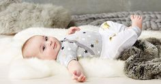 Babywear basics that shine join the Skip Hop family of fun kids' accessories #Baby, #BabyClothing, #Onesies, #SkipHop
