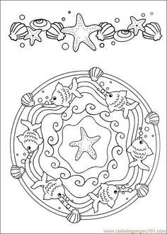 ԑ̮̑♦̮̑ɜ~Mandala para Colorear~ԑ̮̑♦̮̑ɜ: