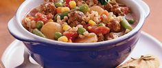 Looking for a hearty dinner using Progresso® broth and Green Giant® vegetables? Then try this flavorful beef and barley stew.