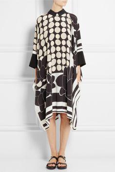 Issa|Maya printed silk dress|NET-A-PORTER.COM