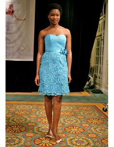 Blue Bridesmaid Dresses, Spring 2012    Simone Carvalli    simonecarvalli.com