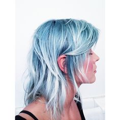We could not be more in love with this beautiful blue #AvedaColor.