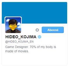Biographie Hideo Kojima Twitter  http://lamaisonmusee.com/