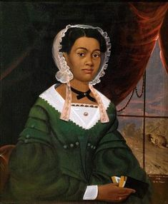"""William Matthew Prior, """"Portrait of Mrs. Nancy Lawson"""" oil on canvas, Shelburne Museum in Vermon American Women, African American History, Early American, American Girl, Black History Facts, Art History, European History, Shelburne Museum, Shelburne Vermont"""