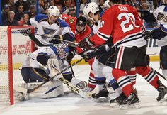 Blues vs. Blackhawks - 04/14/2013 - Chicago Blackhawks - Photos
