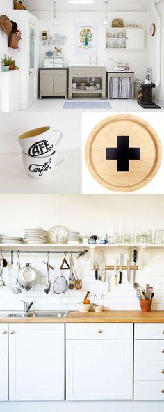 Grey Kitchen and Nice Organization