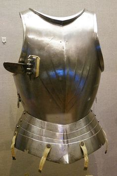 Spain (possibly Aragon), 1490-1510.  This cuirass was previously displayed as part of a composite Gothic armour.