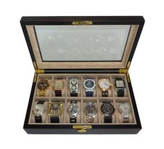 men s watch box watch box watch case wood watch box great to store my watch collection good gift for men