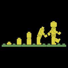 Evolution Lego: Art, Design & Photography | Redbubble