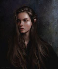ArtStation - Elf, Jane Nane