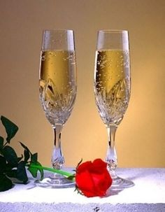 Wine Glass Images, Hearts And Roses, Champagne, Happy Birthday, Tableware, Flute, Gif, Instrumental, Beautiful Life