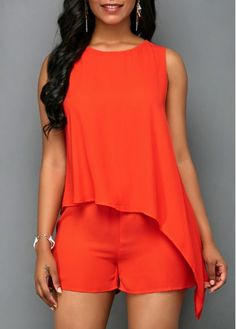 Solid Black Halter Neck Pocket Jumpsuit | modlily.com - USD $32.05