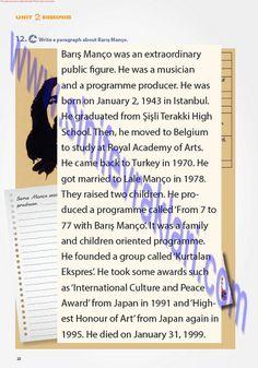 7. Sınıf İngilizce Ders Kitabı Cevapları Pantera YayınlarıSayfa 22   7. Sınıf İngilizce Pantera Yayınları Ders Kitabı Cevapları Sayfa 22 ... High School, Study, The Unit, Writing, Studio, Grammar School, High Schools, Studying, Being A Writer