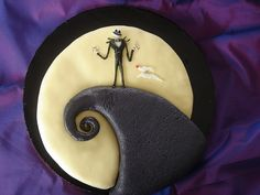 nightmare before christmas decorated cakes | Simple Top 10 Best Nightmare Before Christmas Cakes