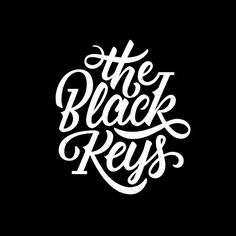 The Black Keys logotype design