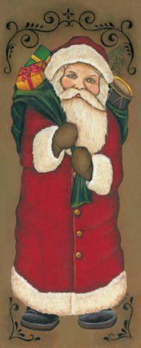 Santa Clause Art Print