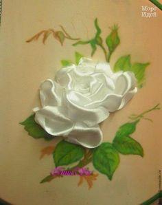 Ideas para el hogar: Rosas con cintas de encaje para decorar lo que gustes                                                                                                                                                      Más