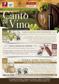 CookingPaola al Farra Wine Festival 2017. 24, 25, 26 agosto 2017.