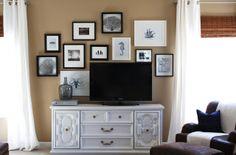 *WHITE GLAM*: 5 ideias para enquadrar TV na decoração #10