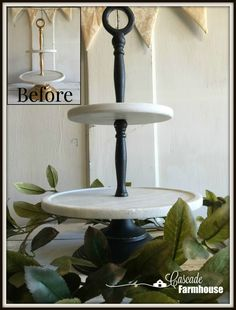 Learn how to chalk paint with easy step by step instructions. Tiered Cakes, Step By Step Instructions, Chalk Paint, Marble, Farmhouse, How To Make, Diy, Do It Yourself, Bricolage