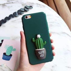 Find More Phone Bags & Cases Information about Korean Cute Replica 3D Cactus Phone Cases For iPhone 5 5S SE 6 6s Plus Plants Heart Flower Hard PC Cover For iPhone 7 Plus 021C,High Quality case for iphone,China phone cases Suppliers, Cheap case for iphone 5 from KINGCASE (HK) TECHNOLOGY CO., LIMITED on Aliexpress.com