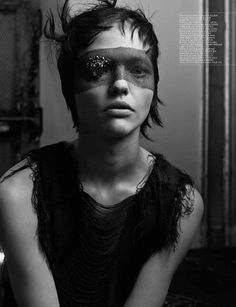 Interview Mag - Into the Darkness