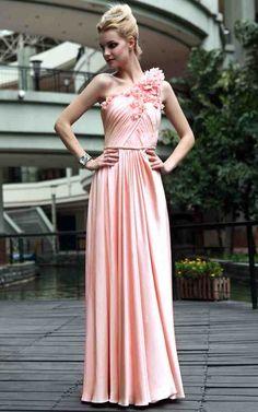 Bridesmaid Dresses In Peach