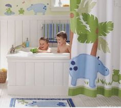 Modern And Cool Kids Bathroom Design Ideas