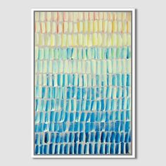 "Sarah Campbell - Geo Strokes | west elm - 25""x 36"" canvas - ""Journey"" - $299 (less 20% is $239.20)"