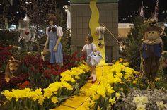 Wizard of Oz garden.