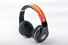 Monster Beats By Dre Studio Spain patriotic flag Limited Edition http://www.drebeatsbydreoutlet.com/
