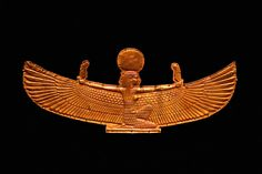 Amuletic Plaque of Maat, goddess of truth and justice