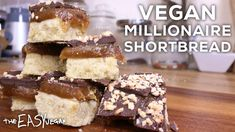 Chocolate Caramel shortbread squares. YUMMY!!!