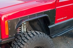 Front Tube Fender Flares - Jeep Cherokee XJ