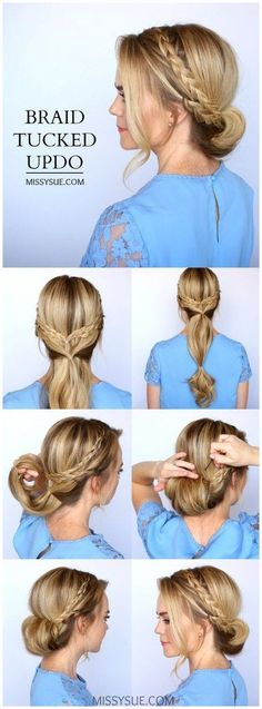 15 simple ball hairstyles for medium to long hair you can step at home with . - 15 simple ball hairstyles for medium to long hair you can step at home with . - , 15 simple ball hairstyles for medium to long hair you can step into at home …, - - Ball Hairstyles, Prom Hairstyles For Long Hair, Quick Hairstyles, Braided Hairstyles, Hair Updos For Medium Hair, Hair Tutorials For Medium Hair, Easy Wedding Hairstyles, Updos For Medium Length Hair Tutorial, School Hairstyles