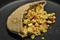 Garlic Girl's Tofu and Veggie Morning Scramble