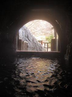 Umegashima Onsen. Shizuoka, Japan | 静岡 温泉 濃い温泉の梅ヶ島温泉。源泉洞窟の一般公開