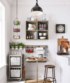 Barn PB Apartment Brand Launch Small Space Decor A gorgeous small kitchen with home decor from Pottery Barn Apartment.A gorgeous small kitchen with home decor from Pottery Barn Apartment. Barn Apartment, Apartment Design, Apartment Ideas, Interior Design For Apartments, Apartment Goals, Apartment Therapy, Small Apartment Decorating, Decorating Small Spaces, Budget Decorating